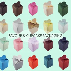 Favour & cupcake packaging